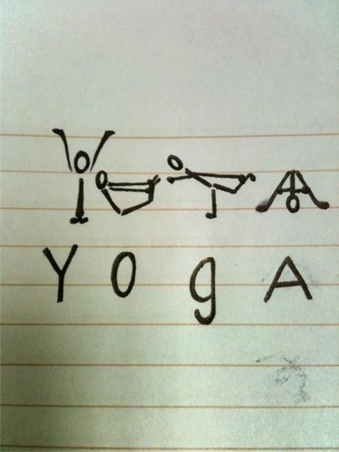 Yoga Written in Poses
